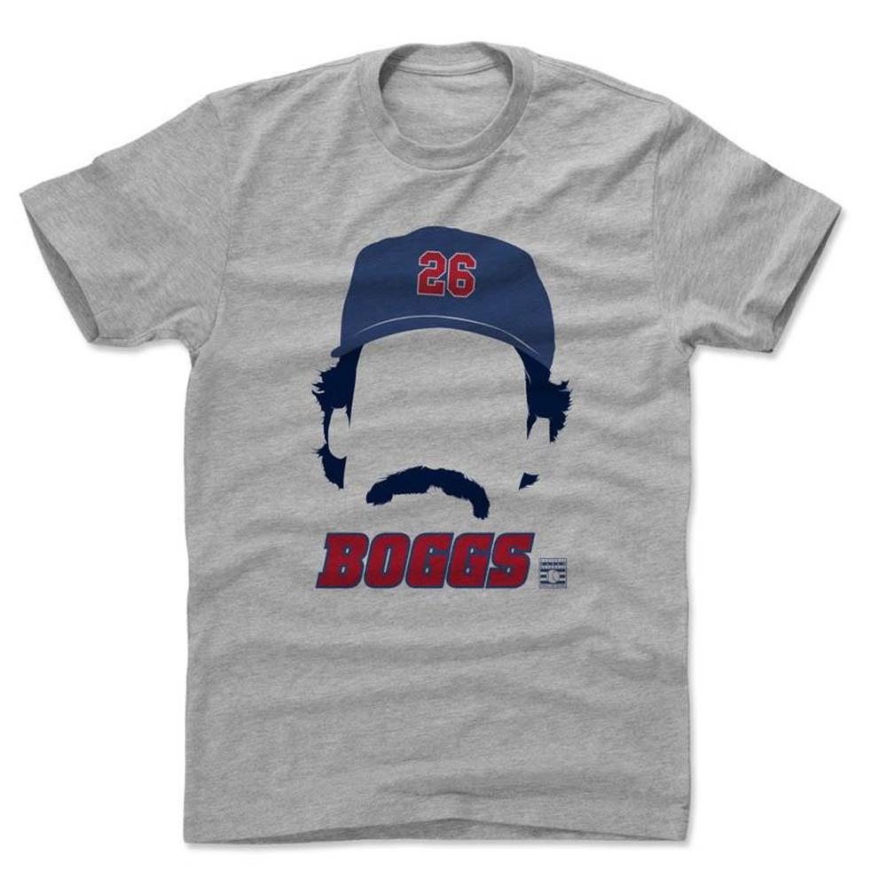 MLB Tシャツ ウェイド・ボッグス 500Level グレー【1910価格変更】【1112LV】
