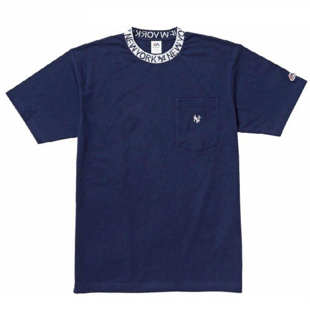 MLB ヤンキース Tシャツ マジェスティック/Majestic ネイビー【1910価格変更】【1112】