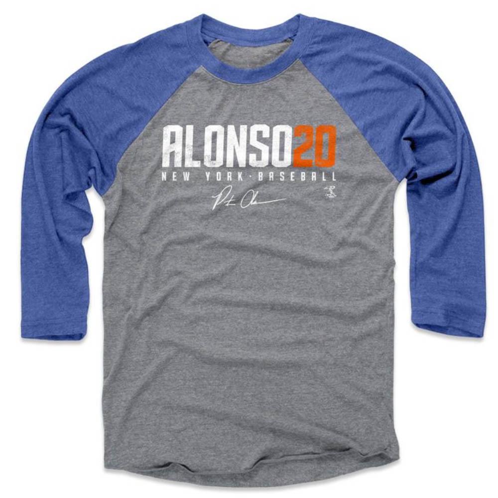 MLB Tシャツ ピート・アロンソ ロングスリーブ 500Level グレー ロイヤル【1910価格変更】【1112LV】