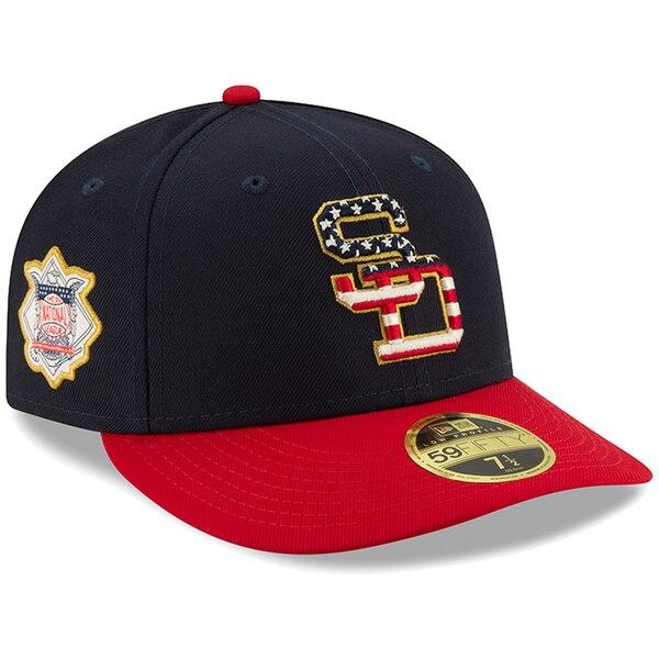 MLB パドレス キャップ/帽子 2019 スターズ&ストライプス ロープロファイル ニューエラ/New Era ネイビー