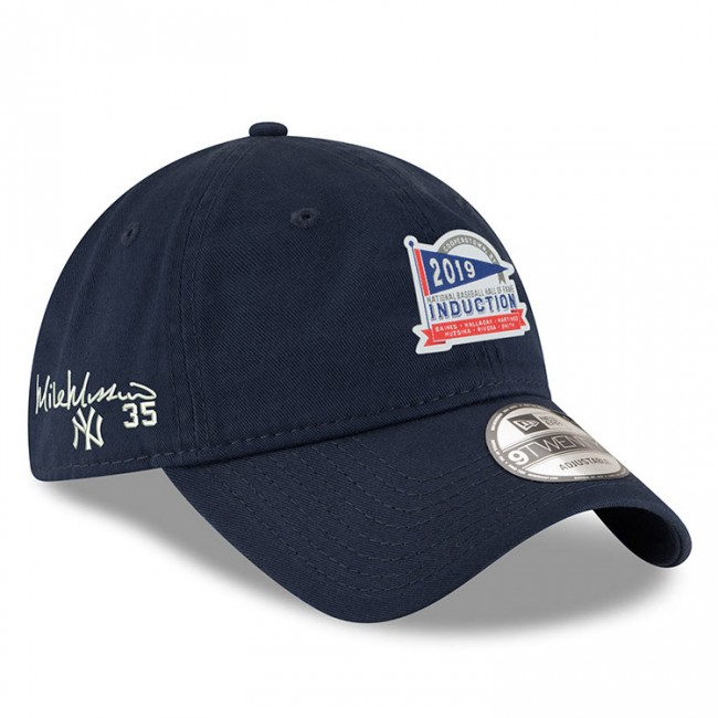 卓出 MLB2019殿堂入りプレイヤーサイン刺繍入CAP マイク ムッシーナ ヤンキース キャップ ニューエラ シグネチャー セール開催中最短即日発送 ERA MLB アジャスタブル NEW