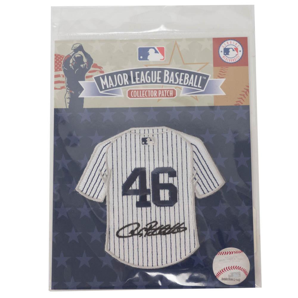 MLB アンディ・ペティット ヤンキース サイン ジャージワッペン The Emblem Source【1910価格変更】