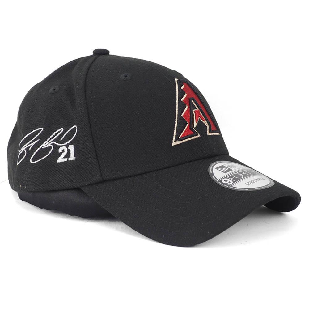 ザック・グリンキー キャップ ダイヤモンドバックス MLB 9FORTY サイン刺繍 ニューエラ New Era