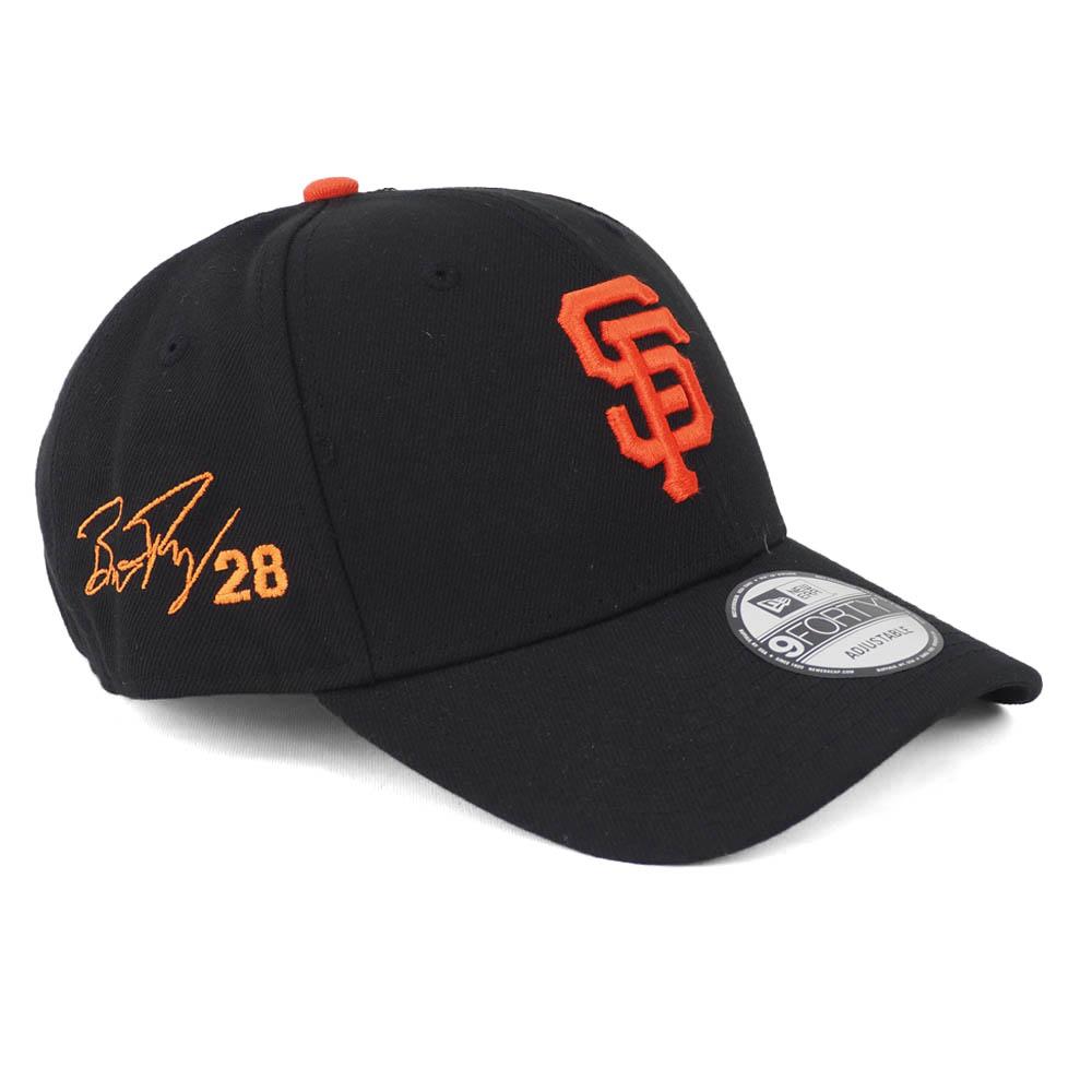 バスター・ポージー キャップ/帽子 ジャイアンツ MLB 9FORTY サイン刺繍入り アジャスタブル ニューエラ/New Era ゲーム