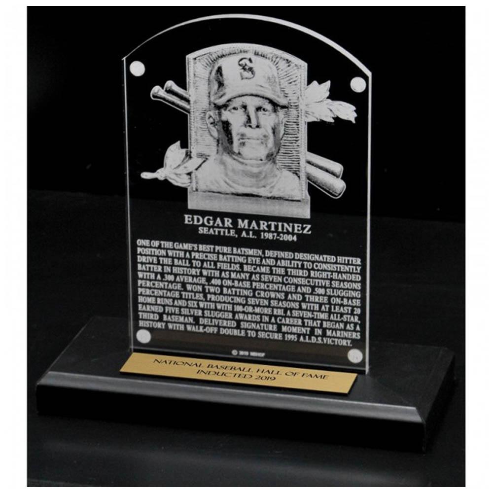 お取り寄せ エドガー・マルティネス マリナーズ MLB 殿堂入り記念 Hall of Fame プラーク 楯