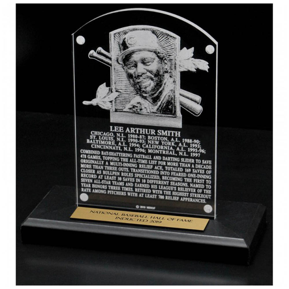お取り寄せ リー・スミス カブス MLB 殿堂入り記念 Hall of Fame プラーク 楯