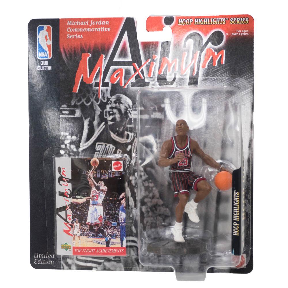 NBA マイケル・ジョーダン ブルズ フィギュア Super Stars Air Maximum Action Figure Rookie Upper Deck