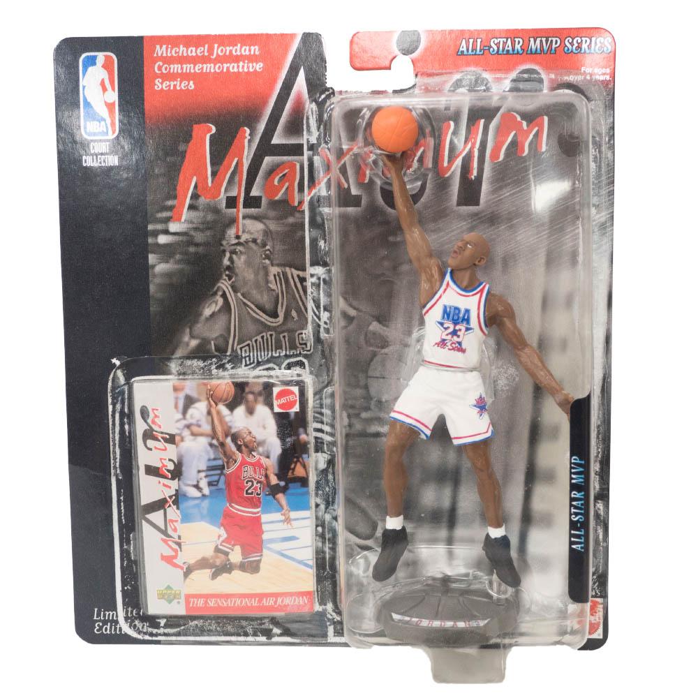 NBA マイケル・ジョーダン ブルズ フィギュア Super Stars Air Maximum Action Figure 96 All-Star Upper Deck