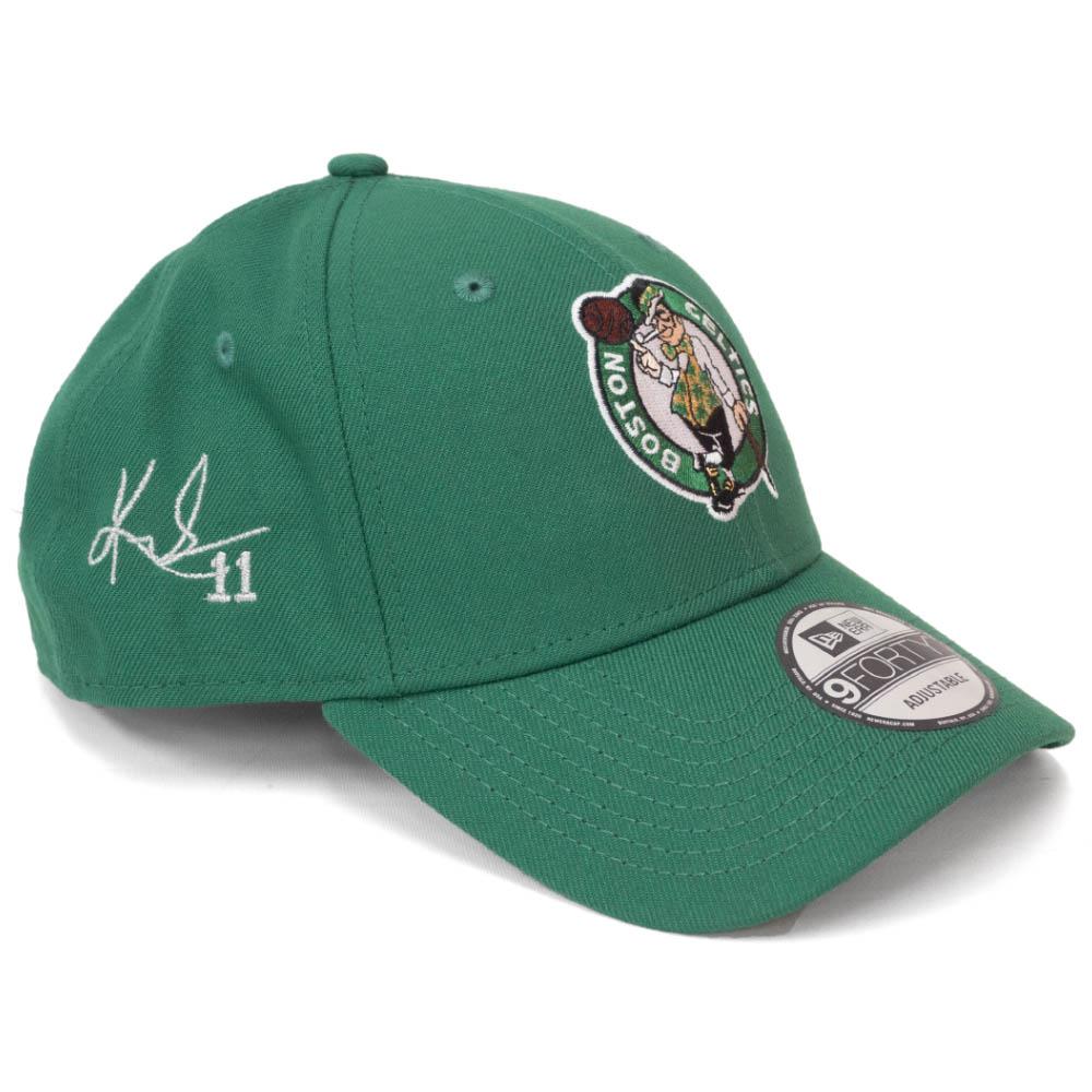 カイリー・アービング キャップ/帽子 セルティックス NBA 9FORTY サイン刺繍入り アジャスタブル ニューエラ/New Era グリーン