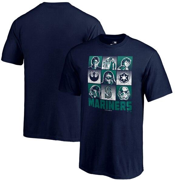 MLB マリナーズ Tシャツ スターウォーズ ネイビー【1910価格変更】【1112】
