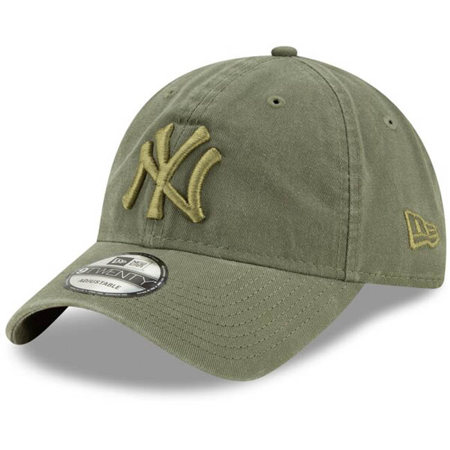ヤンキース キャップ ニューエラ NEW ERA MLB 9TWENTY アジャスタブル グリーン【1910価格変更】【191028変更】