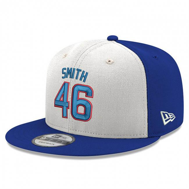 カブス キャップ ニューエラ NEW ERA MLB リー・スミス 2019 MLB野球殿堂入り 9FIFTY ロイヤル ホワイト 【1910価格変更】【191028変更】