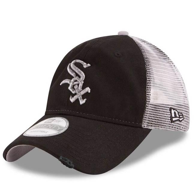 ホワイトソックス キャップ ニューエラ NEW ERA MLB 9TWENTY アジャスタブル ブラック【1910価格変更】【191028変更】