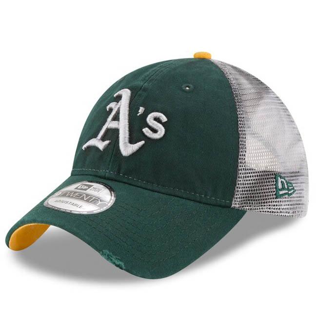 アスレチックス キャップ ニューエラ NEW ERA MLB 9TWENTY アジャスタブル グリーン【1910価格変更】【191028変更】