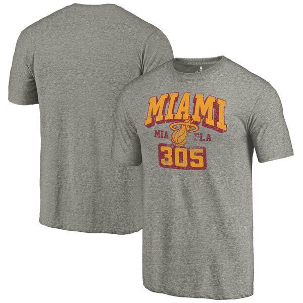 NBA Tシャツ ヒート グレー【1910価格変更】【1911NBAt】