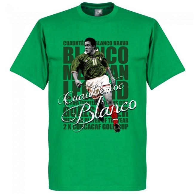 メキシコ代表 クアウテモク・ブランコ Tシャツ SOCCER レジェンド サッカー/フットボール グリーン【1910価格変更】