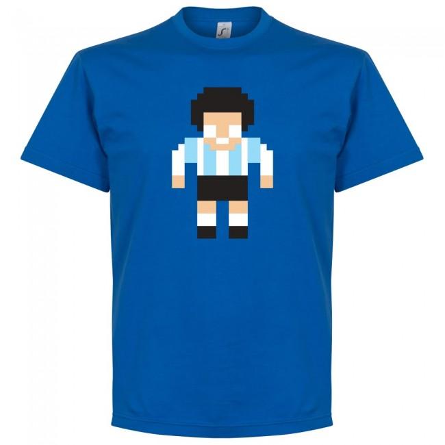 アルゼンチン代表 マラドーナ Tシャツ SOCCER ピクセル サッカー/フットボール ロイヤル【1910価格変更】