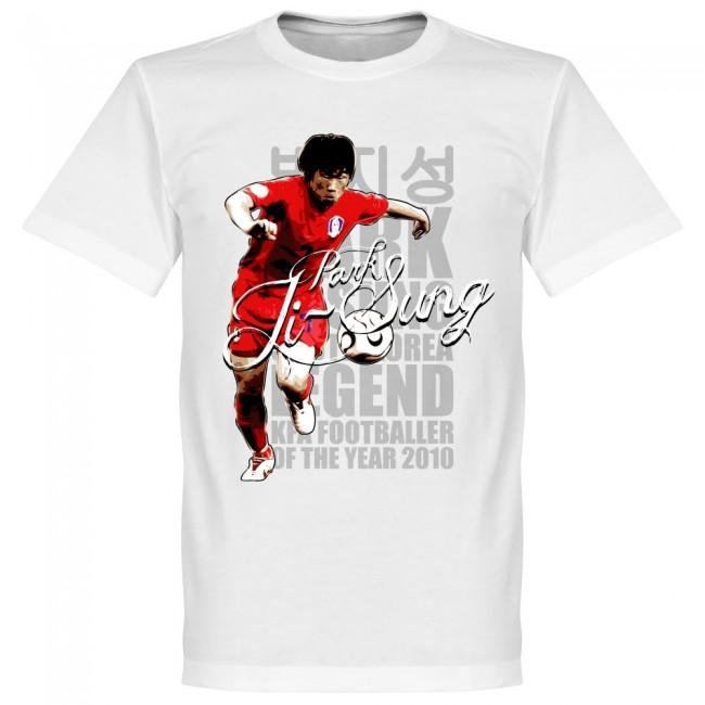 韓国代表 朴智星(パク・チソン) Tシャツ SOCCER レジェンド サッカー/フットボール ホワイト【1910価格変更】