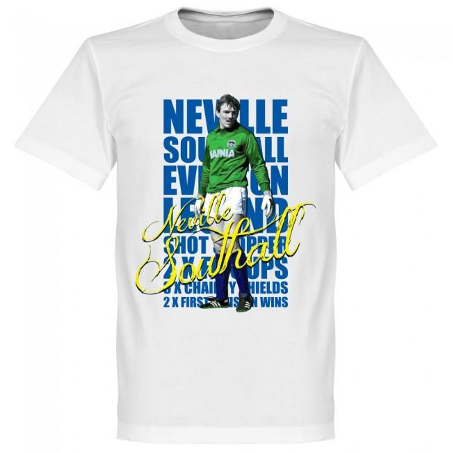 エバートン ネヴィル・サウスオール Tシャツ SOCCER レジェンド サッカー/フットボール ホワイト【1910価格変更】