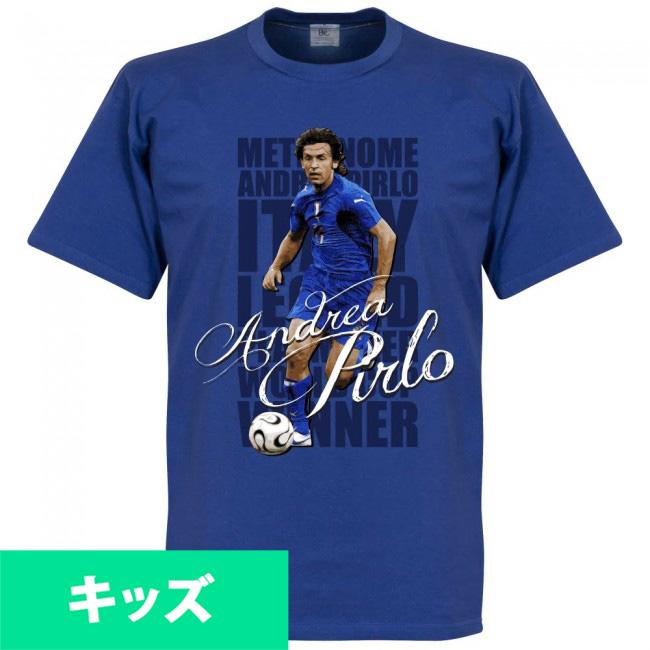 イタリア代表 アンドレア・ピルロ Tシャツ SOCCER レジェンドキッズ サッカー/フットボール ロイヤル【1910価格変更】
