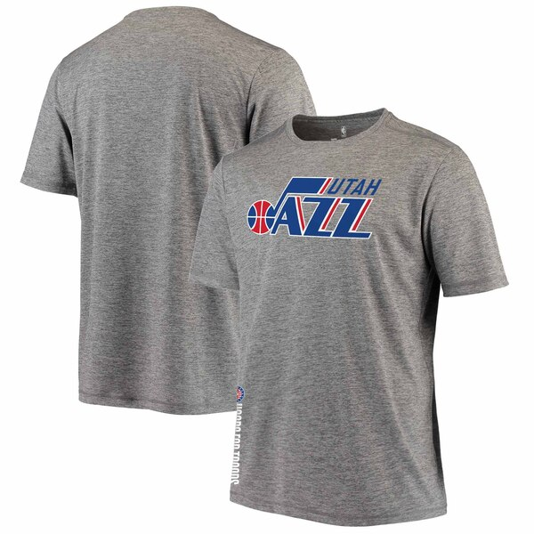 NBA Tシャツ ジャズ グレー【1911NBAt】
