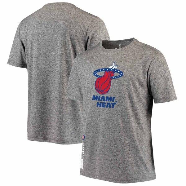 NBA Tシャツ ヒート グレー【1911NBAt】