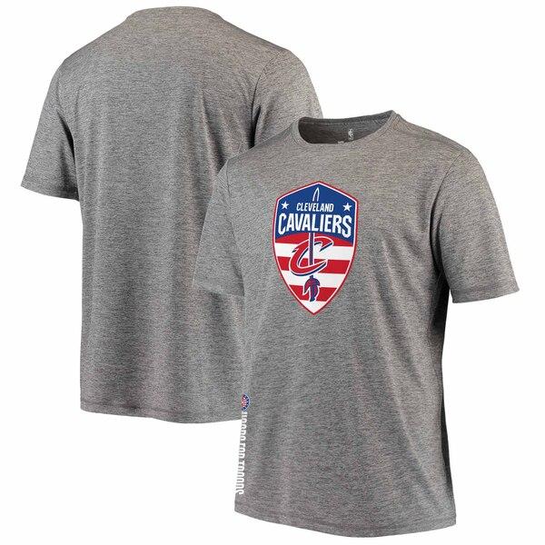 NBA Tシャツ キャバリアーズ グレー【1911NBAt】