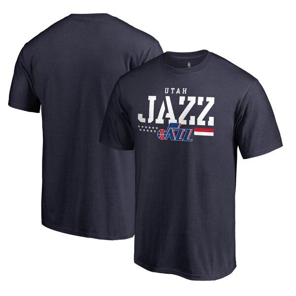 NBA Tシャツ ジャズ ネイビー【1911NBAt】