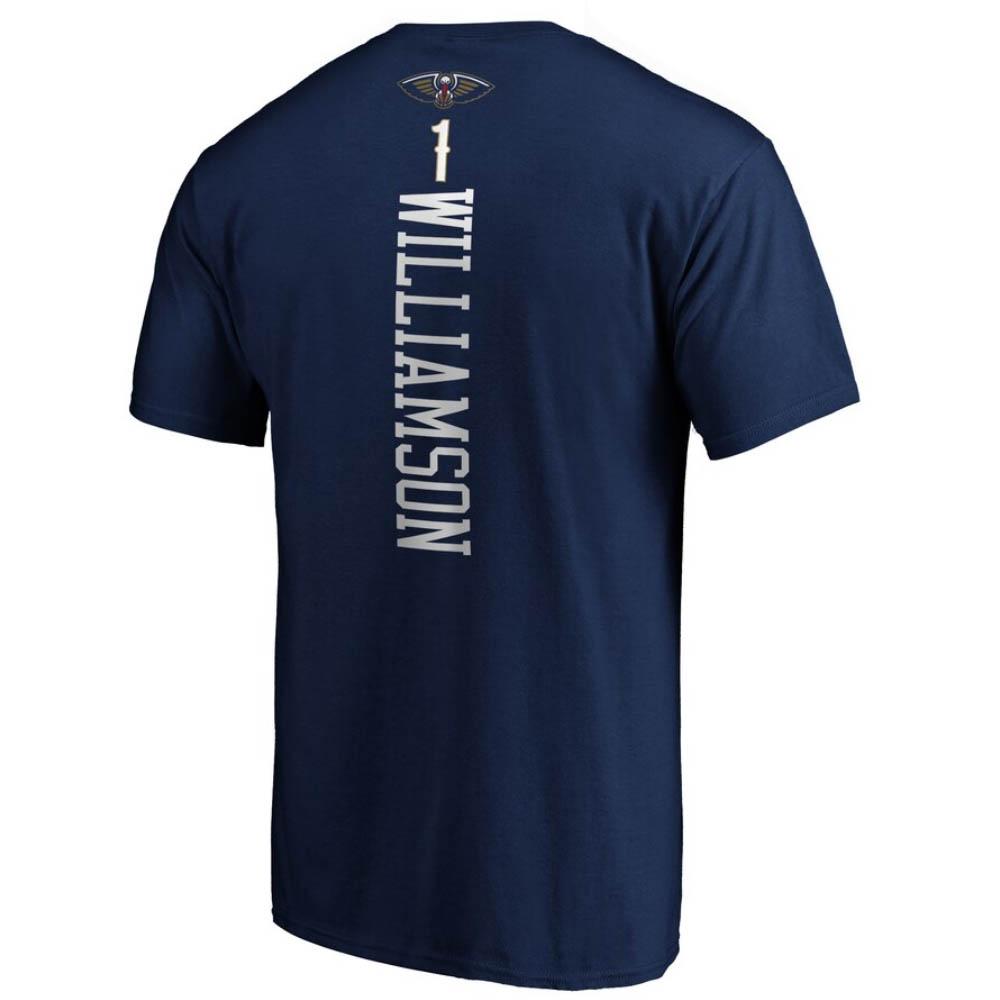 ザイオン・ウィリアムソン Tシャツ ペリカンズ NBA ネイビー【1910価格変更】【1911NBAt】
