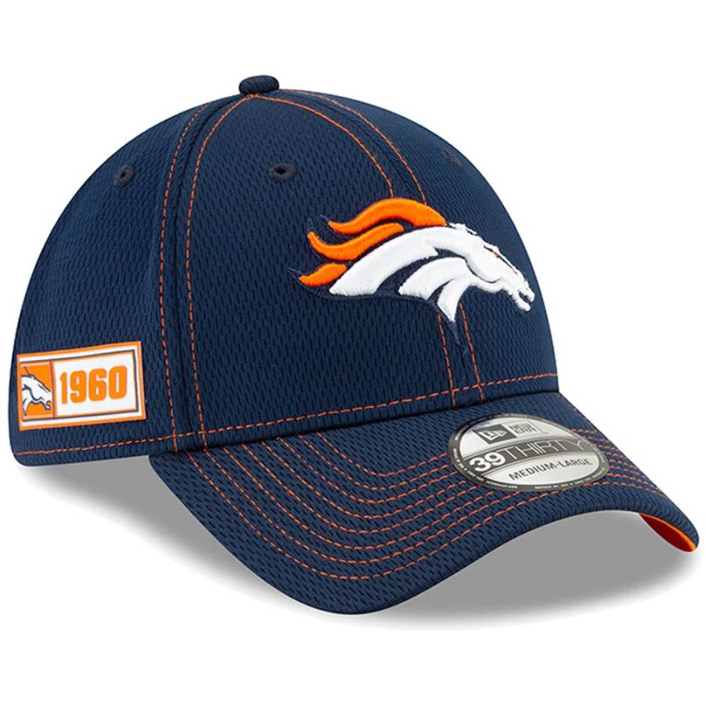 NFL ブロンコス キャップ/帽子 2019 サイドライン Road 39THIRTY Flex Hat ニューエラ/New Era【1910価格変更】【191028変更】