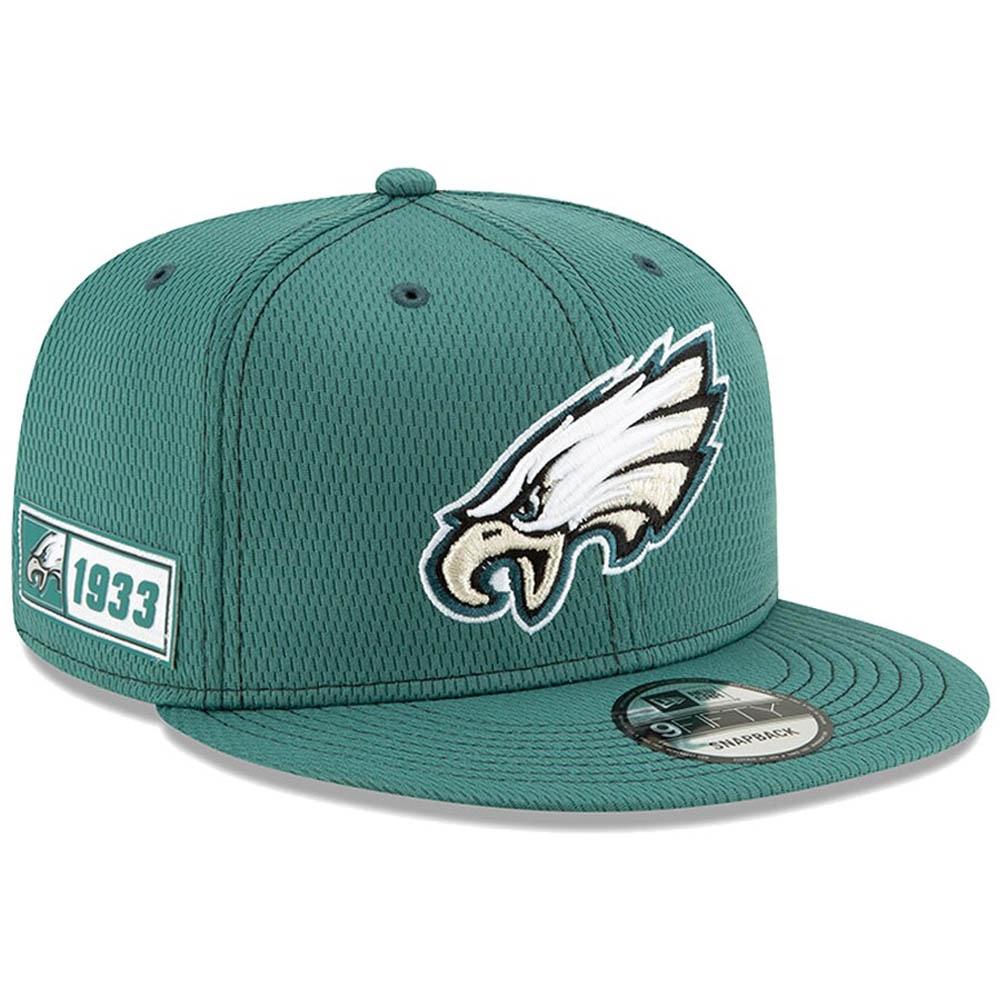 NFL イーグルス キャップ/帽子 2019 サイドライン Road 9FIFTY ニューエラ/New Era【1910価格変更】【191028変更】