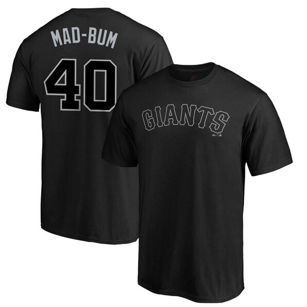 マディソン・バムガーナー Tシャツ ジャイアンツ MLB 2019 プレイヤーズ ウィークエンド マジェスティック/Majestic ブラック【1910価格変更】【1112】