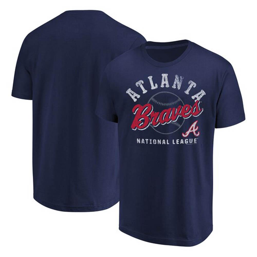 ブレーブス Tシャツ MLB ネイビー【1112】