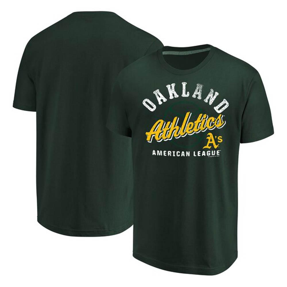 アスレチックス Tシャツ MLB グリーン【1112】