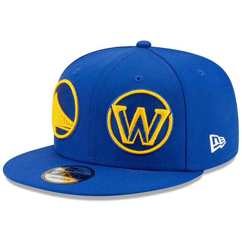 ウォリアーズ キャップ/帽子 NBA ロゴ ラップ 9FIFTY アジャスタブル スナップバック ニューエラ/New Era ロイヤル【191028変更】