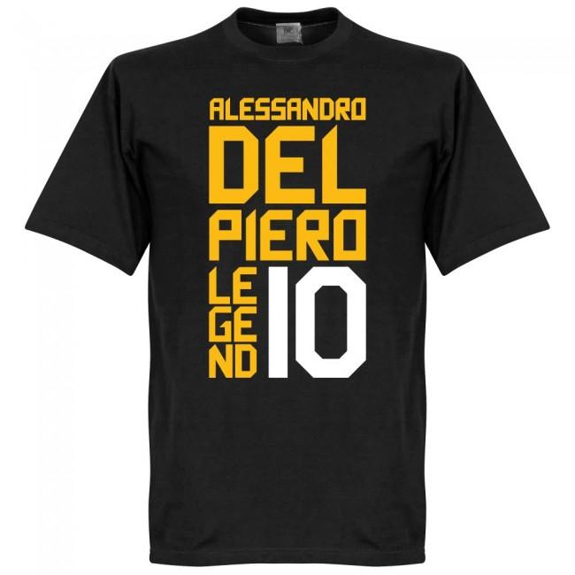 デル・ピエーロ Tシャツ SOCCER レジェンド サッカー/フットボール ブラック【1910価格変更】
