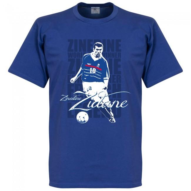 サッカー界のレジェンドが勢揃い グラフィックTシャツ フランス代表 ジネディーヌ ジダン Tシャツ ロイヤル SOCCER 評判 公式通販 レジェンド サッカー フットボール