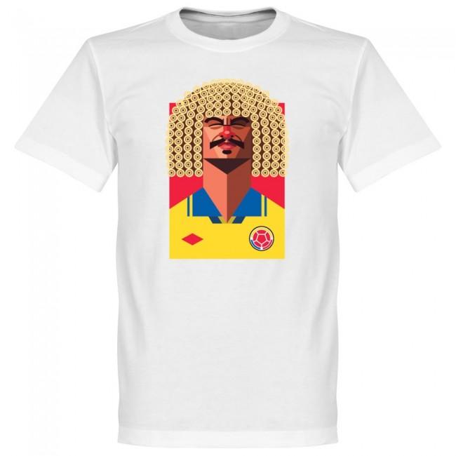 コロンビア代表 バルデラマ Tシャツ SOCCER プレイメーカー ホワイト【1910価格変更】