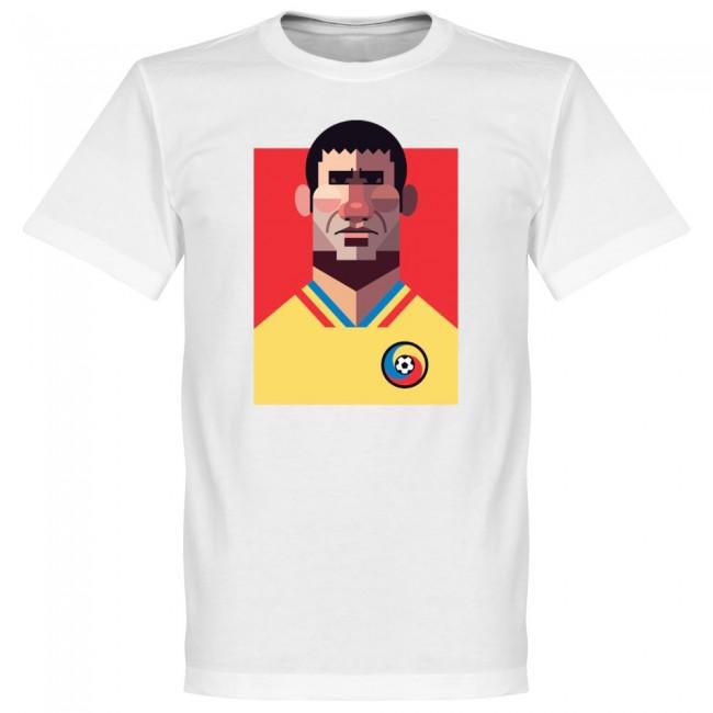 ルーマニア代表 ゲオルゲ・ハジ Tシャツ SOCCER プレイメーカー ホワイト【1910価格変更】