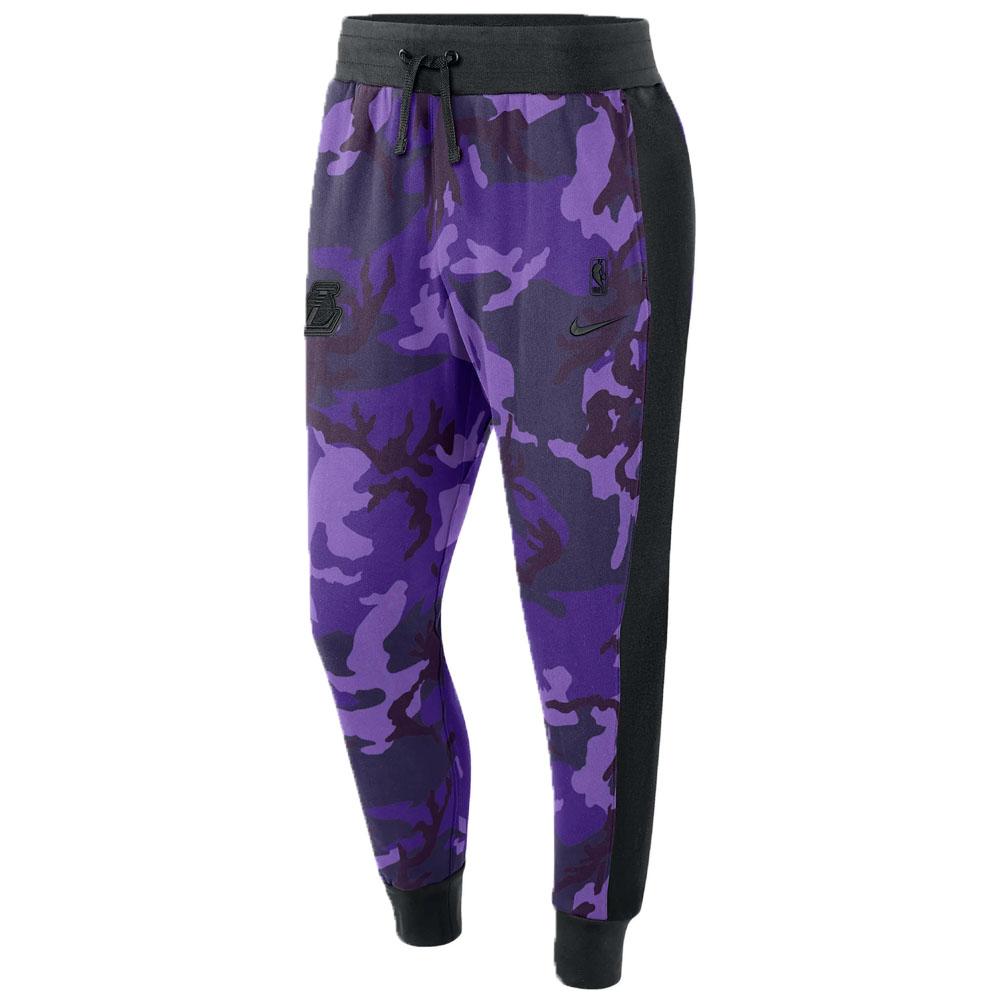 ロサンゼルス・レイカーズ NBA ロングパンツ/ズボン LAL コートサイド パンツ ナイキ/Nike BQ5054-504【NIKEJP】