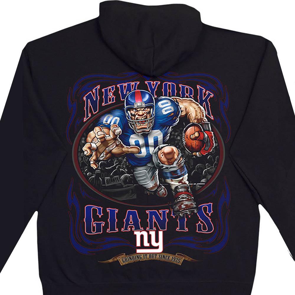 NFL ニューヨーク・ジャイアンツ パーカー/フーディー ランニングバック プルオーバー ブラック