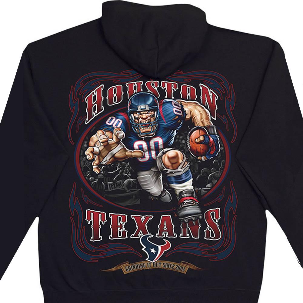 NFL ヒューストン・テキサンズ パーカー/フーディー ランニングバック プルオーバー ブラック