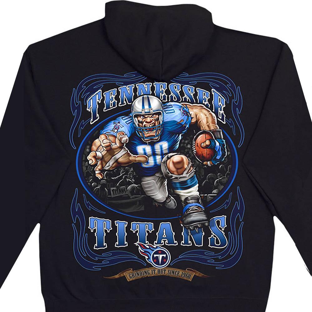 NFL パーカー テネシー・タイタンズ フーディー ランニングバック プルオーバー ブラック
