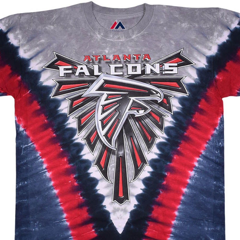 NFL アトランタ・ファルコンズ Tシャツ V タイダイ染め【lb1910変更】