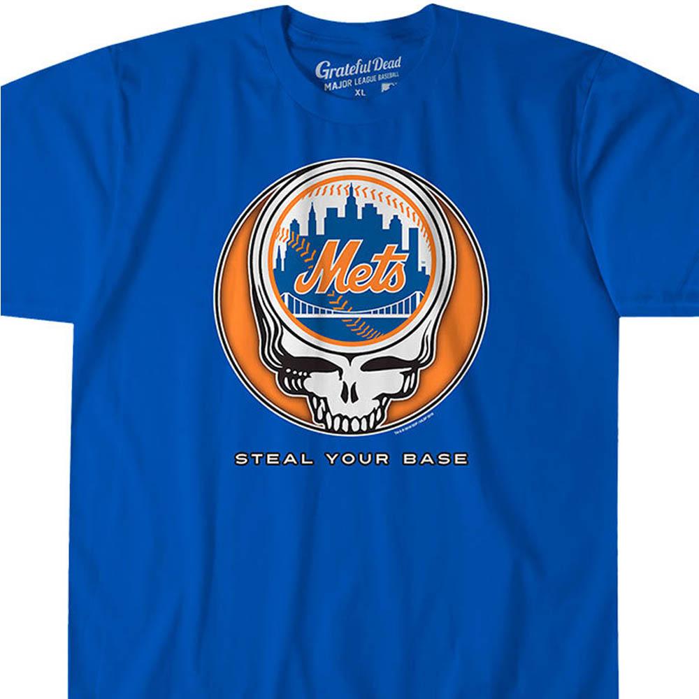 MLB ニューヨーク・メッツ Tシャツ ユア ベース アスレティック ブルー