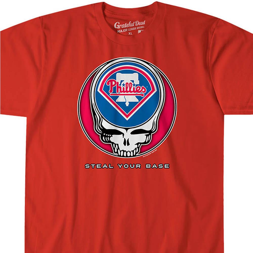 MLB フィラデルフィア・フィリーズ Tシャツ ユア ベース アスレティック レッド【lb1910変更】【1112】