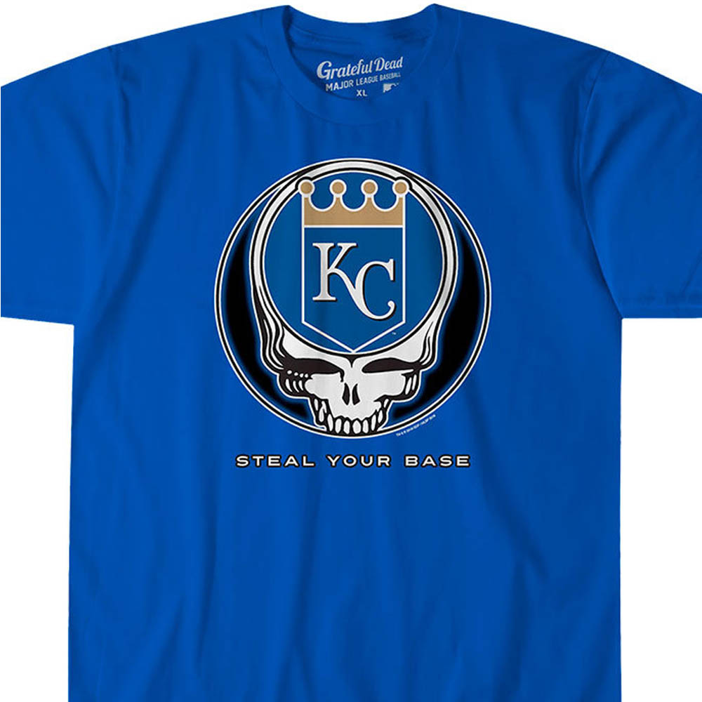 MLB カンザスシティ・ロイヤルズ Tシャツ ユア ベース アスレティック ブルー【lb1910変更】【1112】