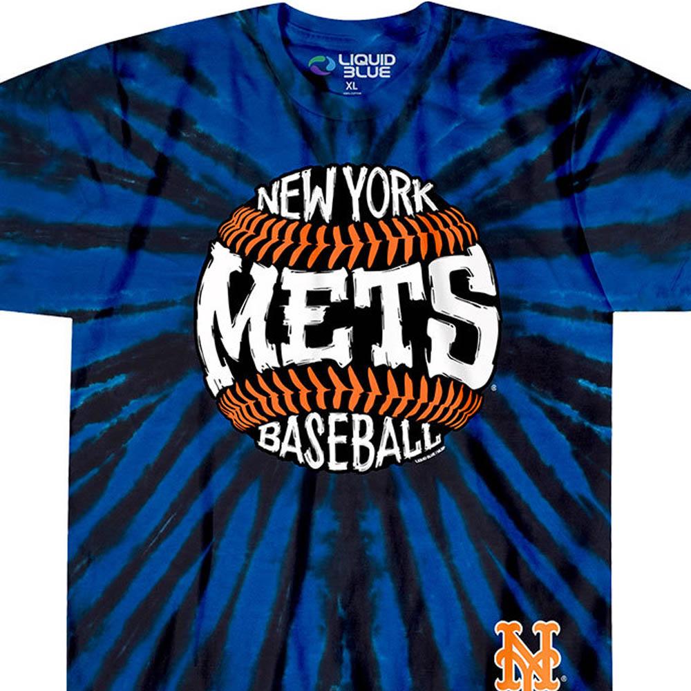 MLB ニューヨーク・メッツ Tシャツ バースト タイダイ染め【lb1910変更】【1112】