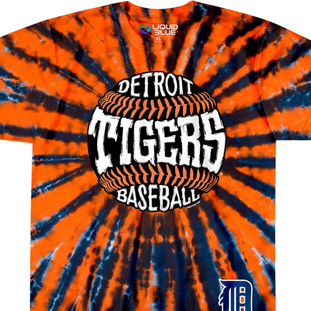 <title>インパクト大 MLBタイダイ染めTシャツ MLB デトロイト タイガース Tシャツ バースト タイダイ染め lb1910変更 大幅にプライスダウン</title>