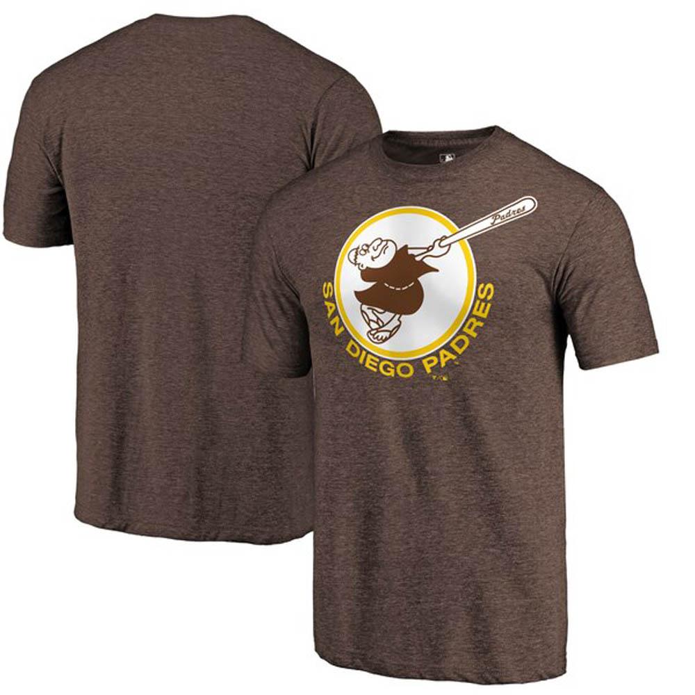 MLB サンディエゴ・パドレス Tシャツ クーパーズタウン コレクション ヘザー ブラウン【1910価格変更】【1112】